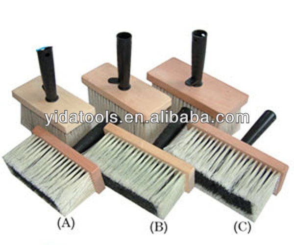 Wall paint brush/wallpaper cleaning brush
