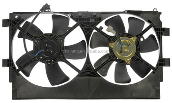 Aftermarket car parts for MITSUBISHI OUTLANDER 07'~ 2.0 2.2L DIESEL radiator fan
