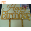 Custom Happy Birthday Cake Topper Cake Topper Acrylic Party Decorations