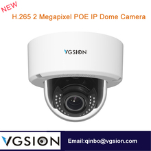 Vandal Proof 3X Auto Zoom Dome Cameras 2 Megapixel CCTV IP Camera Support Intelligent Analysis Functions SD Card IR 30 Meters