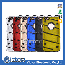 Free Sample Protector Combo Robot Cover Case for iPhone 5 Carcasas