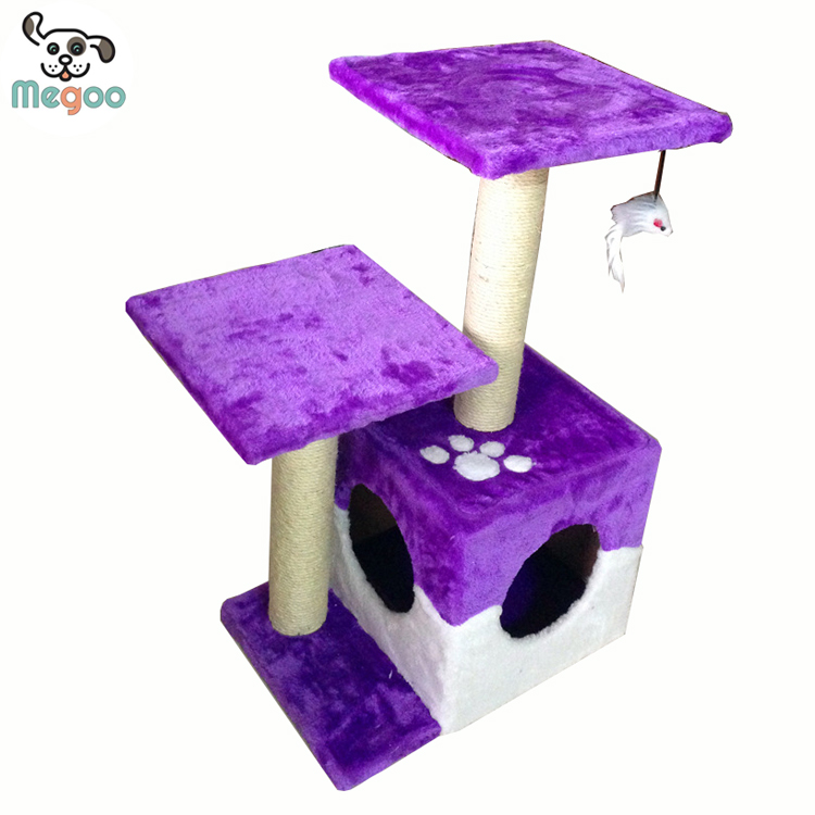 high quality cat tree shelves made in China