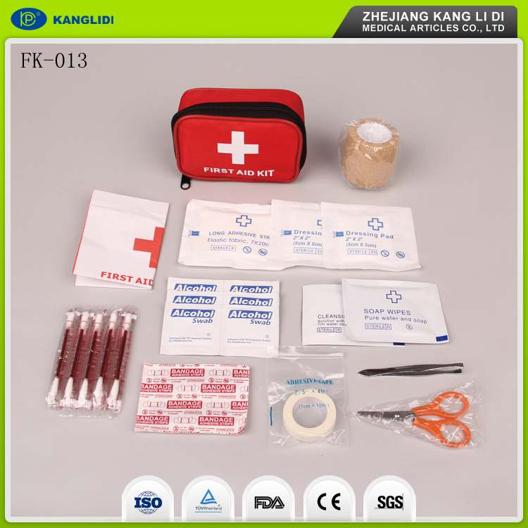 KLIDI CE FDA Approved China Factory Supply Earthquake Disaster Used Emergency First Aid Kits