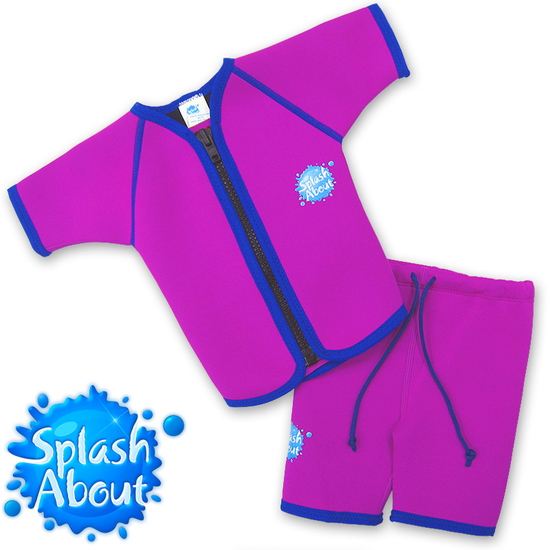 Hot Sale swimwear vendor Unique 1mm Colored NEOPRENE UPF50+ taiwan 1-6y Splash About Jacket & Shorts Wetsuit
