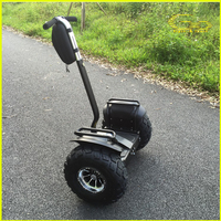 2016 classic durable quality stable driving 19 inch tires off road two wheels self balancing scooters