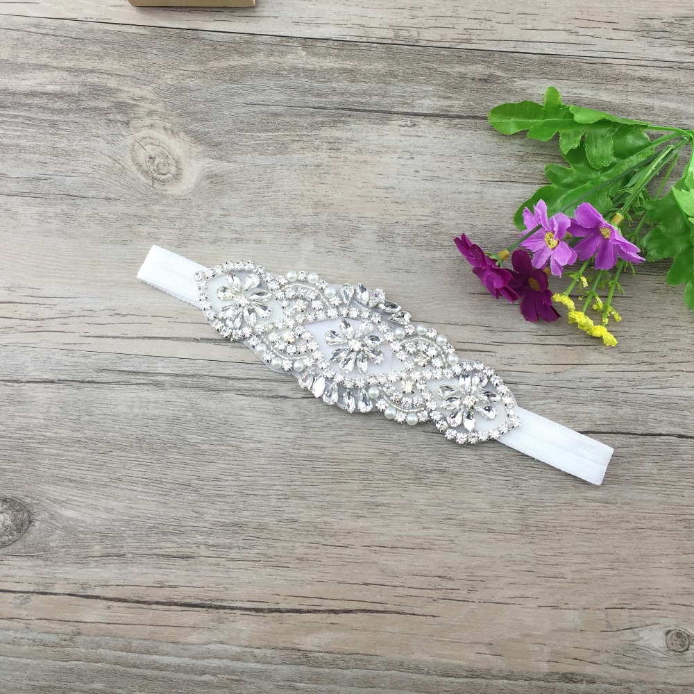 factory directly wholesale elegant high quality high end crystal rhinestone hair accessories for flower girls