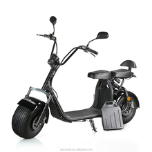 2017 fashion 60-80km long range electric scooter 1200w electric scooter city coco for adults
