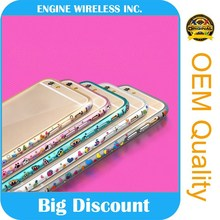 original diamond stone crystal case for apple iphone 4 ,6 months guarantee
