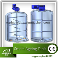 stainless steel mixing vats