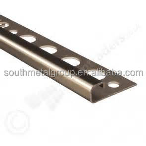 bronze metal tile trim