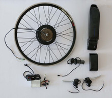 36v 10.4Ah green power battery bafang motor 250w DIY electric folding bicycle conversion kit
