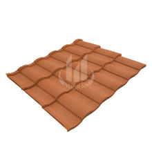 decorative building material/stone coated metal used metal roofing sale/colour stone coated metal roofing tile
