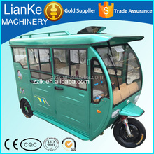 passenger tricycle with cabin/tricycle with roof/rickshaw passenger tricycle