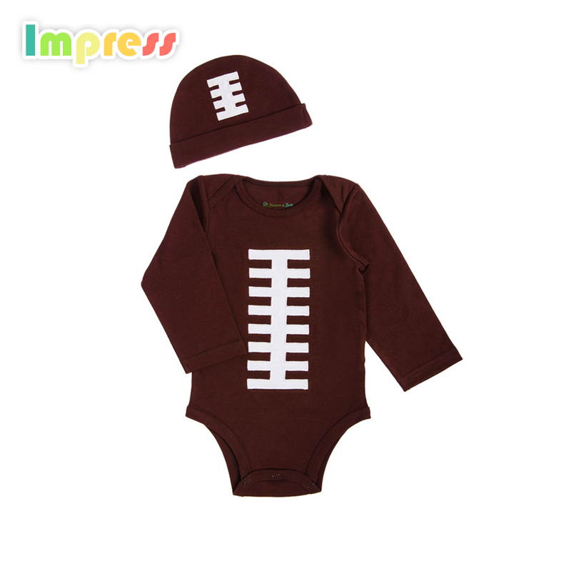 Newborn baby clothes long sleeve sports baby clothes romper gift set