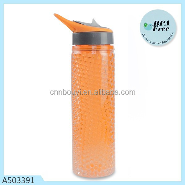 hot sell BPA free 500ml double wall freeze gel bottle