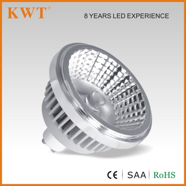 CE RoHS approval gu10 10/14w led spotlight fixture