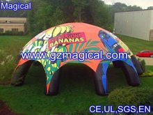 promotional cheap huge inflatable 8 feet spider tents in high quality