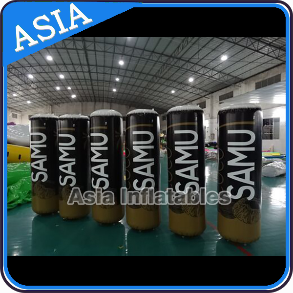 New Design Branded PVC Inflatable Buoys Cube For Advertising