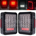hot sale led lens tail light for jeep red tail lamp truck off road 4x4