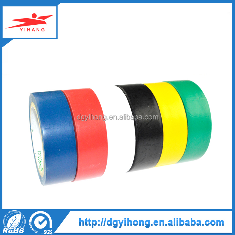 Newest Best Water Pipes Colorful Customized Ductwork PVC Waterproof Strong Rubber Electrical Insulation Tape