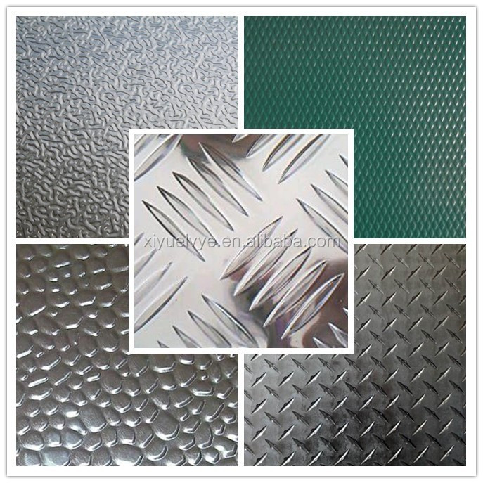 Diamond pattern/5 bars aluminum sheet/plate