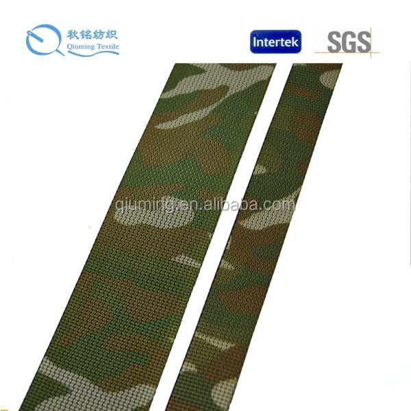 Custom high quality camouflage nylon anti-infrared webbing