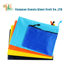 office&school stationery Waterproof Document Bag with zipper