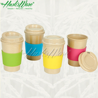 Husk'sware unique travel coffee makers made from rice husk fiber