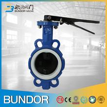 Bs5163 dn50 worm gear/gearbox operated butterfly valve