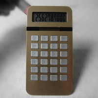 Handheld portable calculator