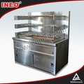 Restaurant Height Adjustable BBQ Grill/Charcoal Grill Oven/Portable Charcoal BBQ Grill
