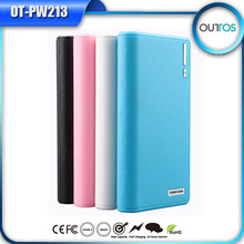 portable power source 15600mah dual usb power bank shenzhen factory