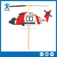 HeliBoy Eurocopter Coast Guard Rubber Powered