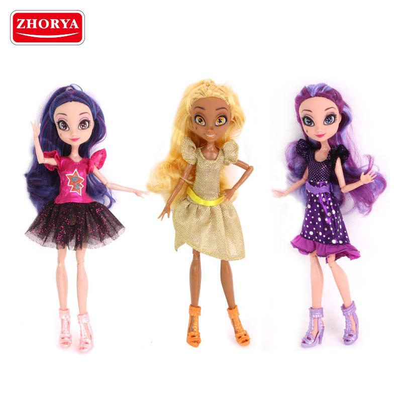 Zhorya toys Newest products girls fashion doll constellation princess