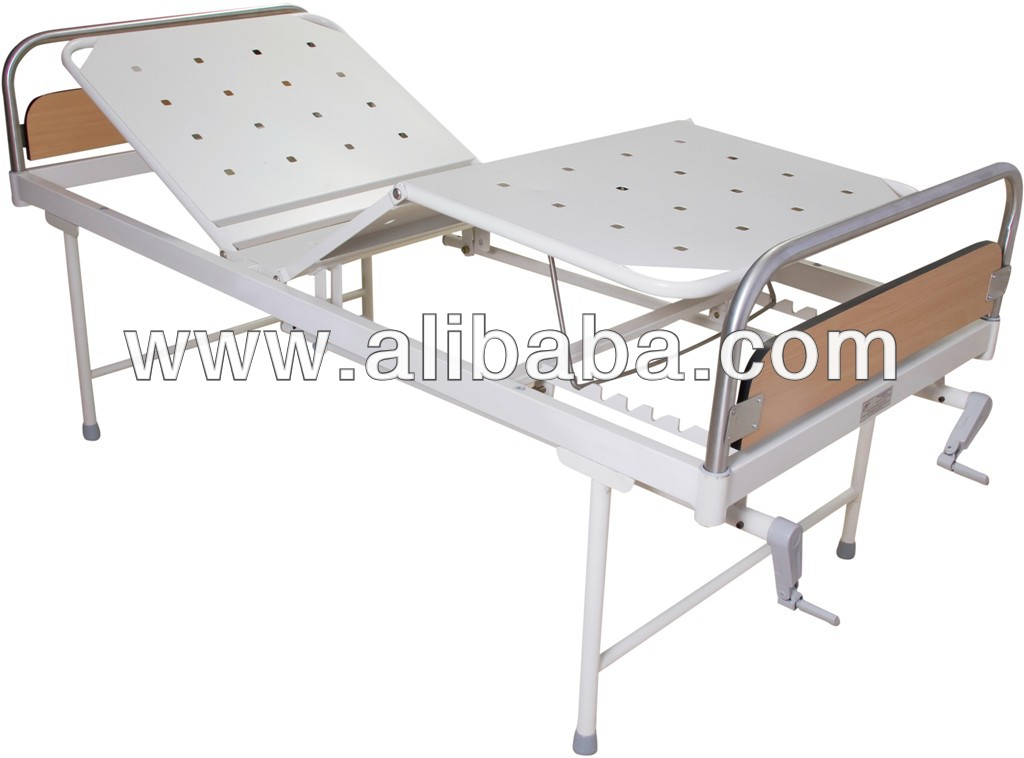 2 crank hospital bed fowler bed