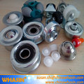 track roller berco undercarriage rubber track parts ball transfer unit kietev rolling bearing ball transfer unit parts