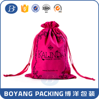 Wholesale travel fabric custom shoe bag