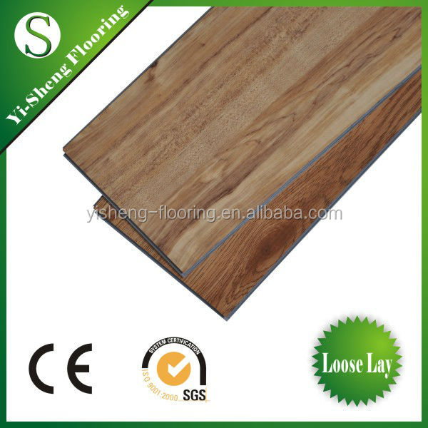 Waterproof Click Lock System Vinyl Flooring