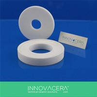 Heat Resistance Machinable Glass Ceramic Ring / INNOVACERA