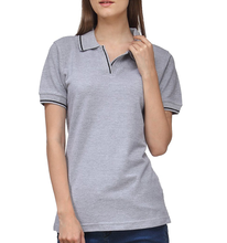bulk wholesale clothing new design blank t-shirt women polo shirt