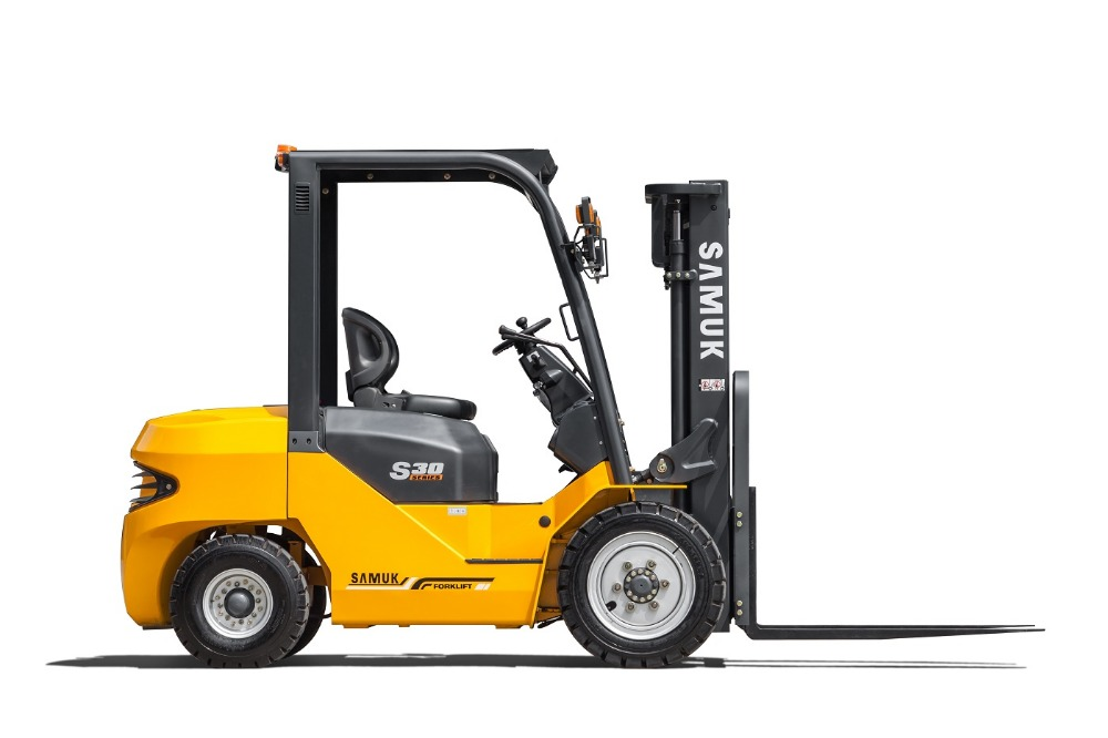 1-3.5ton Samuk Diesel Forklift with Japan engine and China engine