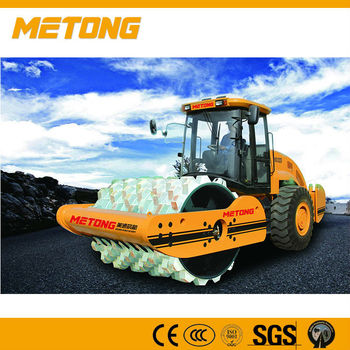 KS122D Metong Fully hydraulic Double drive Vibratory road roller for sale