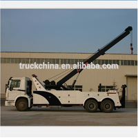 2015 Sinotruk howo road wrecker tow truck recovery truck for sale