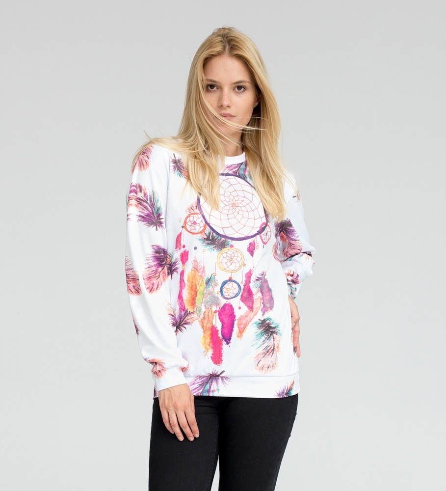 sublimated women sweater