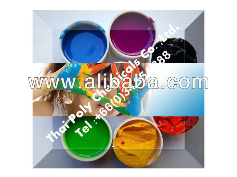 Pigment paste, Plastisol pigment, Color paste, Dispersion pigment paste