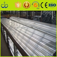 Weight of aluminum section in construction mild steel window section for house decoration industry