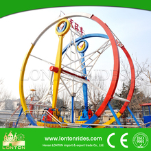 Indoor & outdoor game rides theme park amusement ride for sale ferris ring car rides for adult