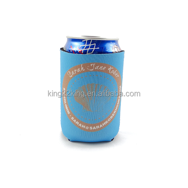 Cans Use and Insulated Type neoprene beer cooler for bottles or cans