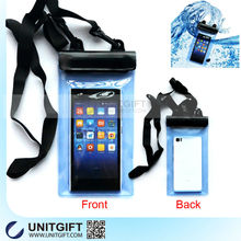 Mobile Phone PVC Waterproof Bag with 3 Zip Lock Seals