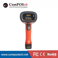 China Cheap Handfree 2D Bluetooth barcode scanner for super market